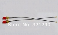 Free shipping (10pieces/lot) Mini PCI U.FL to SMA Antenna WiFi Pigtail Cable IPX to SMA 931-1098-ND