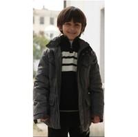 38 benkala bkds032 autumn and winter male child grey fashion down coat
