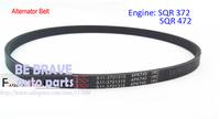 Chery parts: Chery QQ/QQ6/Riich MI/QQME/A1 with Engine: 372 / 472 model Engine belt, 4pk740 alternator belt