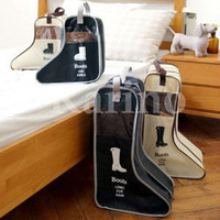 Free Shipping Whole Sale Organizer Shoes Pouch, Waterproof Traveling Bags, Boots Storage, Long