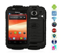 3.5 inch Discovery V5 Three anti android phone Waterproof Dustproof Shockproof WIFI Dual Camera Dual SIM