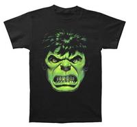 2014 new arrival fashion women/men t shirt INCREDIBLE HULK Angry Hulk Face Mens T- Shirt shirts custom design print tee