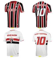 A+++  2014 Brazil Club Home Soccer Jersey Sports Football Wear T Shirt  ,Futbol Kit All-around athlete soccer uniforms