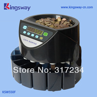 High Quality Coin Counter KSW550F with Black Color.