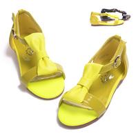 Mr.baby female child baby sandals princess shoes 2014 bow child sandals children sandals female