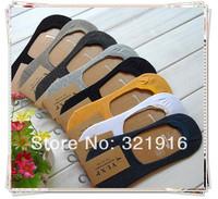 Dry  Fit  crew socks cheap socks free shipping  mens loafer boat socks no show non slip silicone heel modal socks  20prs lot