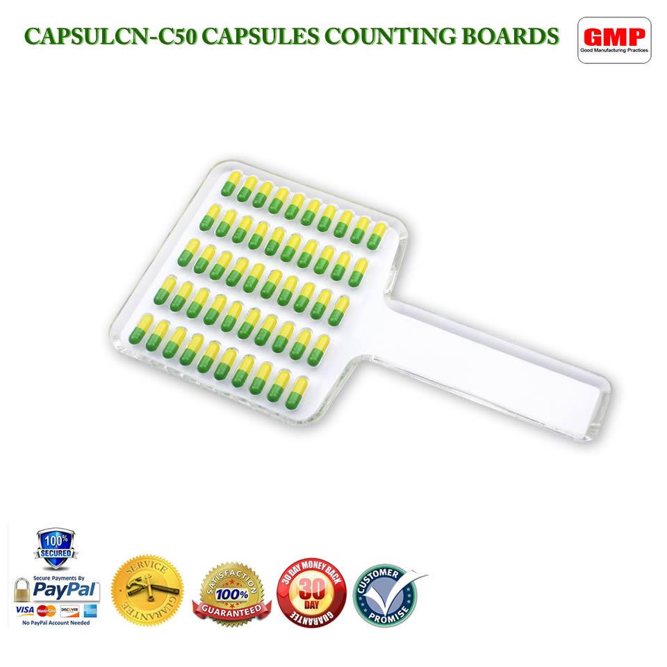 CN-50C Manual Tablet Counter/Pill Counter/Capsule Counter Board (Size 5-000)(Hong Kong)
