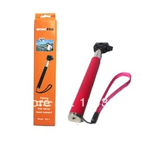 Handheld Aluminum  Monopod/ Self taking photo for camera and smart phone