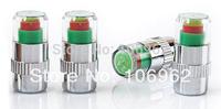 40PCS 2.4 Bar TPMS Valve Caps Car Bike Motorcycle Tire Pressure Monitor Alert Indicator Valve Stem Covers CN Post Free Shipping