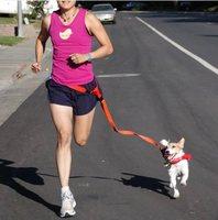 Pet supplies pet belt running traction belt running dog drawstring dog belt