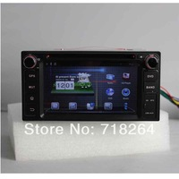 "Newest! Pure Android 4.0,6.2"" HD Capacitive touchscreen double din Car DVD/PC/GPS Player for TOYOTA series"