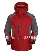 Syrinx Outdoor Jackets windproof waterproof men's three-piece warm mountaineering