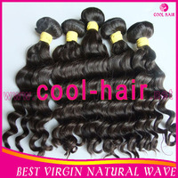 2014 hot selling  100% Peruvian virgin hair Natural wave2 pcs  free shipping