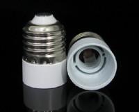 Free shipping 12pcs / lot  E27 to E14 lamp holder converters