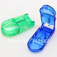 Compartment Box Case Splitter Holder Medicine Pill Divide Storage Tablet Cutter#9035