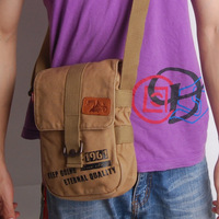2014 hot brief man bag canvas shoulder cross-body men messenger  school bag  bag canvas male Free shipping