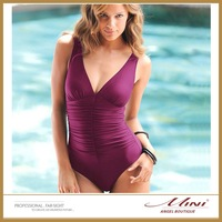 Free Shipping New Arrival Victoria Women Sexy Swimwear Plus Size 3XL Bathing Suit Pure Color Sexy Swimsuits One Pieces