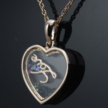 Fashion Hollow out heart necklace for women luxury statement brand stud necklace new design jewelry