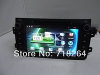 "Free Shipping! Pure Android 4.0,8"" HD Capacitive touchscreen double din Car DVD/PC/GPS Player for SUZUKI SX4 2006-2012"