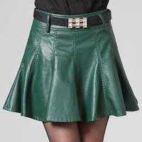 Skirts Womens Skirts Saias Femininas 2014 Spring And Autumn Leather All-match Bust Skirt Short Sheds Female Small High Waist