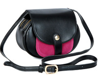 2014 new women messenger bags samll  contrast color shoulder bags buy one can get 3 small bags in different colours