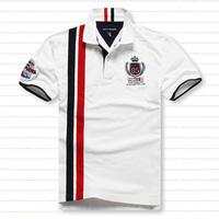 Plus size plus size short-sleeve T-shirt plus size oversized men's clothing t-shirt fat paul turn-down collar short-sleeve