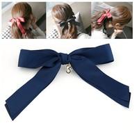 Wholesale Jewelry Fashion Cheap Fashion Sweet Ribbon Big Bowknot Hair Bands Hairpin Jewelry # ftchen_110101177