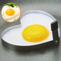 1 PCS 1168 stainless steel heart omelette device love breakfast egg ring omelettes mould heart 0.03