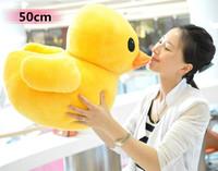 CreateHK Big Yellow Duck The Animal,1pc 50cm Plush Stuffed Animal Toy