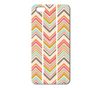 Hot Sale New Arrive Promotion fractured chevron Pattern hard case for Iphone 4 4S 1pcs W015