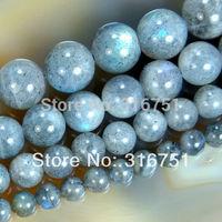Hot Sale 6 8 10 12mm Natural Labradorite Round Beads 15.5inch/strand Pick Size Free Shipping-f00120 Aa