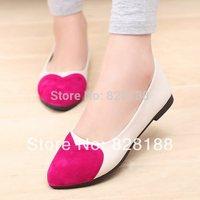 Free shipping 2014 Women flats Fashion candy color Flat shoes Casual shoes Women shoes Comfort shoes