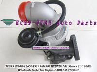 Wholesale TF035 28200-42650 49135-04300 Turbo Turbine Turbocharger For HYUNDAI H1 Starex 2.5L 2000- Engine D4BH 2.5TD 99HP NEW