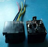 Waterproof 12V 40A  5 pin Car Auto AUTOMOTIVE Relays & Socket 5 Wire Harness 5Set=5pcs car relay + 5pcs relay socket