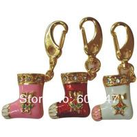Free Shipping 4GB 8GB 16GB 32GB Crystal Socks Style USB Flash Thumb Pen Drive CXCE1159