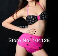 2014 new arrival bikini Super push up bikinis set high waisted bathing suit swimwear women high waist bikini #10