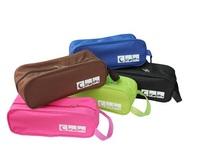 2pcs Visual Type Shoe Bag Waterproof And Breathable Travel  Ventilation Folding Shoes Storage organizer Portable Closet