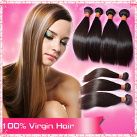 6A Unprocessed Brazilain Virgin Hair Straight Hair Extensions 3/4Pcs/Lot Queen Hair Products 100% Human Hair Weave Can Be Dyed
