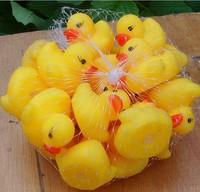 10 Pcs /lot Tweak called Vinyl ducklings swimming educational toys