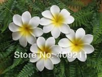 NEW ARRIVAL !  FREE SHIPPING+  300PCS /LOT+ KL945  8-9CM   FOAM  TIARE  HAIR PICK     HAWAIIANFLOWER