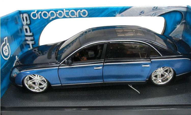 Alloy 1:18 Limited edition MAYBACH car models(China (Mainland))