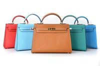 Brand 100% Genuine Epsom leather bag Fashion Handbag colors Shoulder Bags THE BAG designer Famous handbags TOTE 2014 NEW