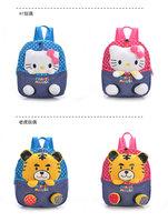 New Arrival Quality Classics 3D Cartoon Animal Plush Backpack Bear Rabbit Cat Schoolbag Child PRE School Kid Cartoon Bag B-0070