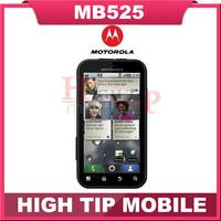 Original Unlocked Motorola MB525 Mobile Phone Waterproof Wifi Bluetooth Camera 5.0MP ROM 2G Smartphone Refurbished Free shipping
