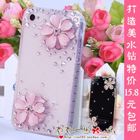 Five petal flower cool school 7295 rhinestone 7269 5950 phone case 5891 8085 protective case shell 7296  2014 free shipping