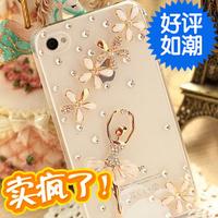 For samsung   g3502u ballet i8558 rhinestone noto3 i8260 phone case s7272 s6818 protective case 2014 free shipping