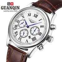 Violin watch stainless steel male business casual quartz watch waterproof mens watch strap male watch