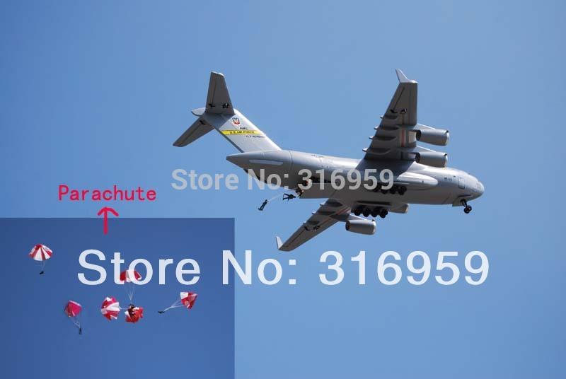 Libre ems airbus el avión militar c17 aieliner 2.4g 7 canales de control remoto de simulación de aviones de transporte electrónico juguetes modelo