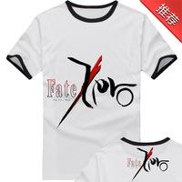 Fate zero t-shirt short-sleeve saber short-sleeve T-shirt clothes