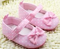 2014 brand baby girl shoes infant girls polka dot shoes kids first walkers baby girl first walker children shoes